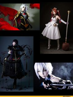 lancer of red,Berserker of Black,Assassin of Red,Fate/Apocrypha,Anime Cosplay,Anime,Аниме,длиннопост