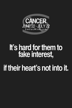 "Fun facts about your sign here:  ""It's hard for them to fake interest, if their heart's not in it!""  <For the life of me...say this again>"