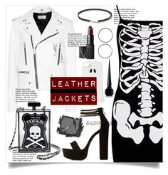 """Lil Creepy"" by bitty-junkkitty ❤ liked on Polyvore featuring Yves Saint Laurent, STELLA McCARTNEY, Forever 21, Miss Selfridge, Current Mood, Charlotte Russe, Christian Louboutin and Surratt"