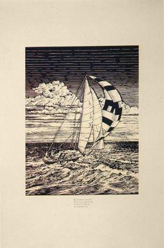 "McRay Magleby, Set Sail, 26"" x 40"""