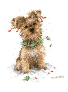 Illustrations de Greg Giordano : chats et chiens   suite a voir plus loin ..