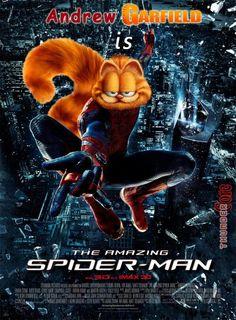 Cat vs spider