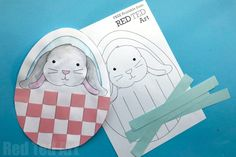 Weaving Bunny Arty - Red Ted Art's Blog