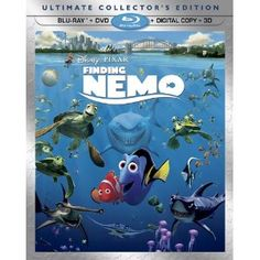 Finding Nemo (Five-Disc Ultimate Collector's Edition: Blu-ray 3D/Blu-ray/DVD + Digital Copy) (Walt Disney Home Entertainment)