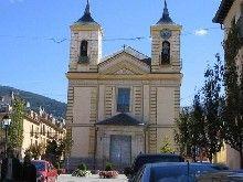 Iglesia de los Dolores, en San Ildefonso, Segovia.