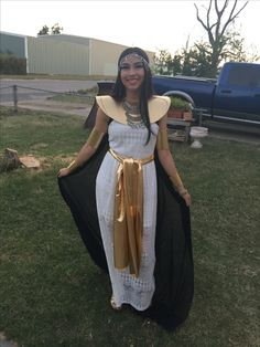 Cleopatra costume 2016 made at home!