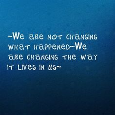 changing our reaction...