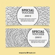 Pack de cupones especiales de dólar Vector Gratis