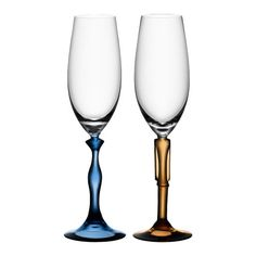 I pinned this Kosta Boda 2 Piece Two of Us Flute Glass Set from the Dinner for Two event at Joss and Main!