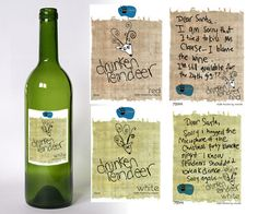 clever wine label!
