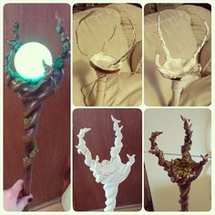 diy+maleficent+staff | Staff I whipped up last night to complete my Maleficent costume! 2 ...