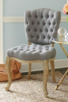 Tufted Side Chair