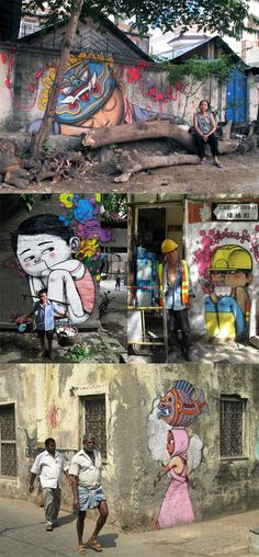 STREET ART BY JULIEN MALLAND AKA 'SETH'