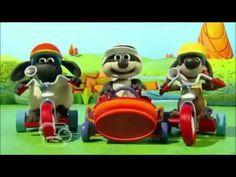 Барашек Тимми Песенка гонщиков - YouTube