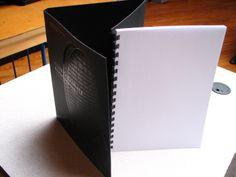 Trifold GBC binder