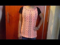 Punto a crochet de rombos en relieve en Punto a crochet en para cobijitas de bebe o bufandas Crochet Shell Stitch, Crochet Chart, Crochet Stitches, Crochet Patterns, Crochet Blouse, Crochet Top, Sweaters For Women, Men Sweater, Crochet Videos