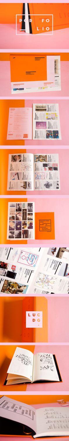 Proyecto de identidad personal. Porfolio de diseño gráfico y dossier fotográfico.