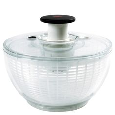 I enjoy the brake on this salad spinner and the fact that you can soak your lettuce if need be.