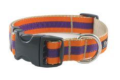 Paw Paws USA - Collegiate - Clemson03 Dog Collar, $22.00 (http://pawpawsusa.com/collegiate-clemson03-dog-collar/)