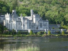 Kylemore Abbey, near Clifden, County Galway, Ireland