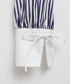 AMBIDEX Store 【予約販売】○highcount polyester リボンカフ ブラウス(F マルチ99): l'atelier du savon