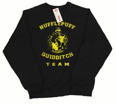 Hufflepuff Quidditch Team Pullover Sweater, In any color  I really like this