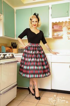 Harlequin Skirt | Pinup Girl Clothing