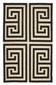 greek key rug from furbish studio. awesome.