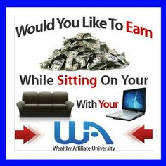 Wealthy affiliate is a amazing community of affiliates a helping each other make money online. Wealthy affiliate also provides online certification training in affiliate marketing step by step ensuring you succeed. Internet Entrepreneur, Internet Marketing, Online Marketing, Marketing Websites, Marketing Strategies, Digital Marketing, Media Marketing, Marketing Quotes, Social Marketing