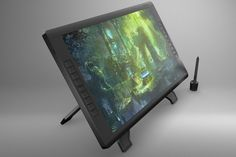 Wacom Cintiq 22HD touch Mock Up by mockupstore.net on Creative Market