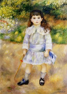 Pierre-Auguste Renoir, Child with a Whip, 1885, 75 cm x 107 cm, Oil on canvas, The Bridgeman Art Library.