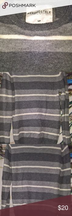 Aeropostale Sweater Excellent used condition. No rips, tears, stains, etc. that I noticed. Zoom in to check pics before purchasing. Item sold as-is--no refunds, returns, exchanges, lawsuits, riots, marches, rallies, etc. Seriously, I described this item to the best of my ability but please check pics and ask questions! TY Yaya Aeropostale Shirts Sweatshirts & Hoodies