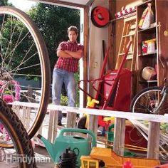 Easy Garage Storage Solutions - Cheap DIY!
