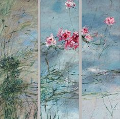 Claire Basler- I love how she captures the survival of plants against nature's harshness