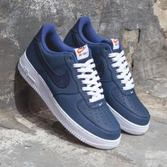 Nike Air Force 1 'Yacht Club' – Now available at and online. Sneakers N Stuff, Best Sneakers, Sneakers Fashion, Shoes Sneakers, Nike Shoes Blue, Nike Air Shoes, Swag Shoes, Tenis Casual, Hype Shoes