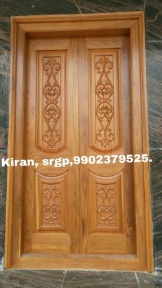 Door And Window Design, Wooden Main Door Design, Double Door Design, Door Gate Design, Bed Furniture, Furniture Design, Pooja Mandir, Double Doors, Wooden Doors