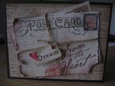 Travel Post by carolemartin - Cards and Paper Crafts at Splitcoaststampers