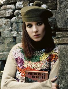 Love love love the sweater. Cathy Come Home featuring Kati Nescher for Vogue UK