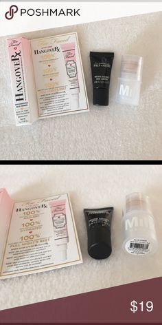 ☀️Primer Set - Too Faced, MAC, Milk ☀️Primer Set - Too Faced, MAC, Milk. Too Faced Hangover Rx Replenishing Face Primer 5 G / 0.16 OZ. MAC Prep & Prime Natural Radiance Base Lumiere in Radiant Yellow 6ML / 0.2FL OZ, Milk Makeup Blur Stick 0.1OZ/3G. All items are new and never swatched or tested. Too Faced Makeup Face Primer