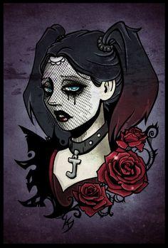 Harley Quinn by Klar-Jezebeth on deviantART
