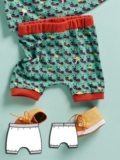 Love these! Picnic playdate sewing patterns for kids clothes from Burda Style.