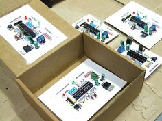 This is a fully functional version of the Arduino. We eliminated the PCB and use paper and cardboard as support and the result is.. the PAPERduino :D This is the the first version of the layout des…
