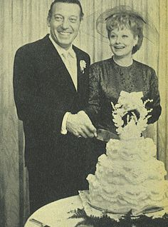 Gary and Lucy on their wedding day.