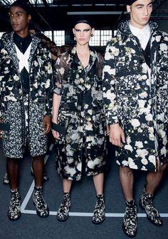 O unissex foi destaque na passarela da Givenchy (Foto: IMAX TREE, MARCIO MADEIRA E DIVULGAÇÃO)