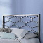 Kinda cool? Could be very teenager. Camden Metal Headboard