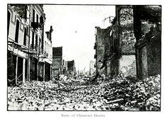 Chinatown post-1906 earthquake. #sanfrancisco