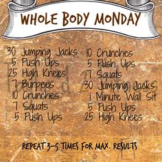 Let's get that workout done! Check in when you get it finished let us know how you did!!