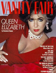 "Vanity Fair ""The beautiful Liz Taylor"""