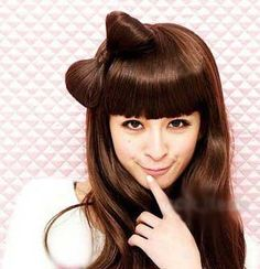 37 Bow Hairstyles for Christmas 02