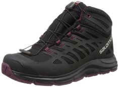 Salomon Womens Synapse Mid CS WP W Hiking BootBlack6 M US * Click image for more details.